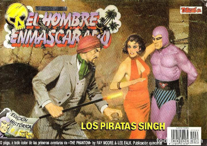 EL HOMBRE ENMASCARADO NUMERO 33 (Tebeos y Comics - Vértice - Hombre Enmascarado)
