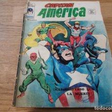 Cómics: CAPITÁN AMÉRICA. VÉRTICE. V 3, N° 9. MÁS PERVERSO QUE LA MUERTE. 1976.. Lote 112516207