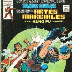 Cómics: RELATOS SALVAJES- ARTES MARCIALES- V- 1 - Nº 46 -DOUG MOENCH-POLLARD-1979-M. BUENO-DIFÍCIL-9932. Lote 145615778
