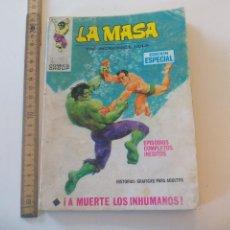 Cómics: LA MASA, EL INCREIBLE HULK A MUERTE LOS INHUMANOS EDICIÓN ESPECIAL, EPISODIOS COMPLETOS 1971. Lote 112759175