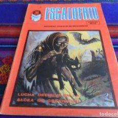 Cómics: VÉRTICE VOL. 1 ESCALOFRÍO Nº 65. 40 PTS. 1978. LUCHA DECISIVA EN LA ALDEA DE GREENWICH.. Lote 112970023