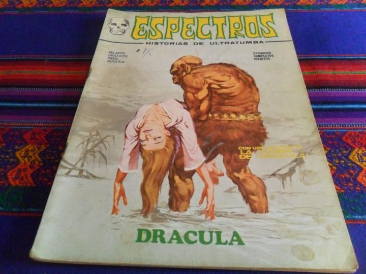 Cómics: VÉRTICE VOL. 1 ESPECTROS 11 12 19 20 24. 1972. 25 PTS. REGALO NºS 1 3 21. DIFÍCILES!!!!! - Foto 5 - 113889900