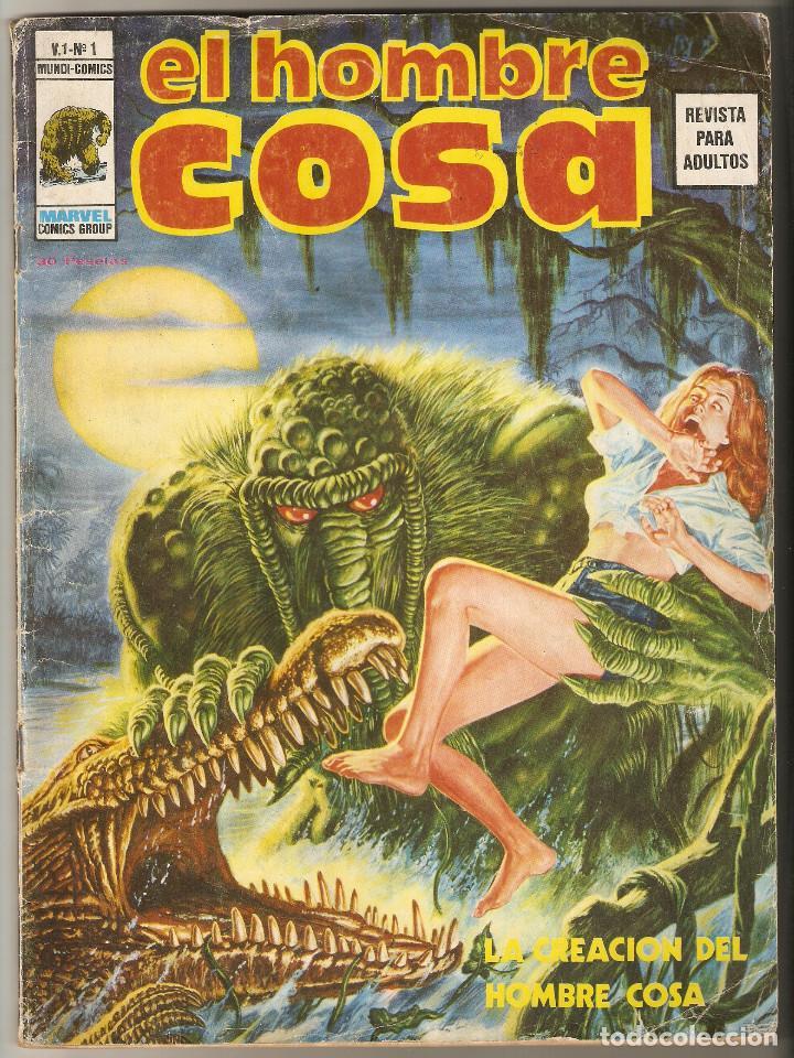 EL HOMBRE COSA Nº 1 - LA CREACION DEL HOMBRE COSA - VERTICE VOL1 - (Tebeos y Comics - Vértice - V.1)