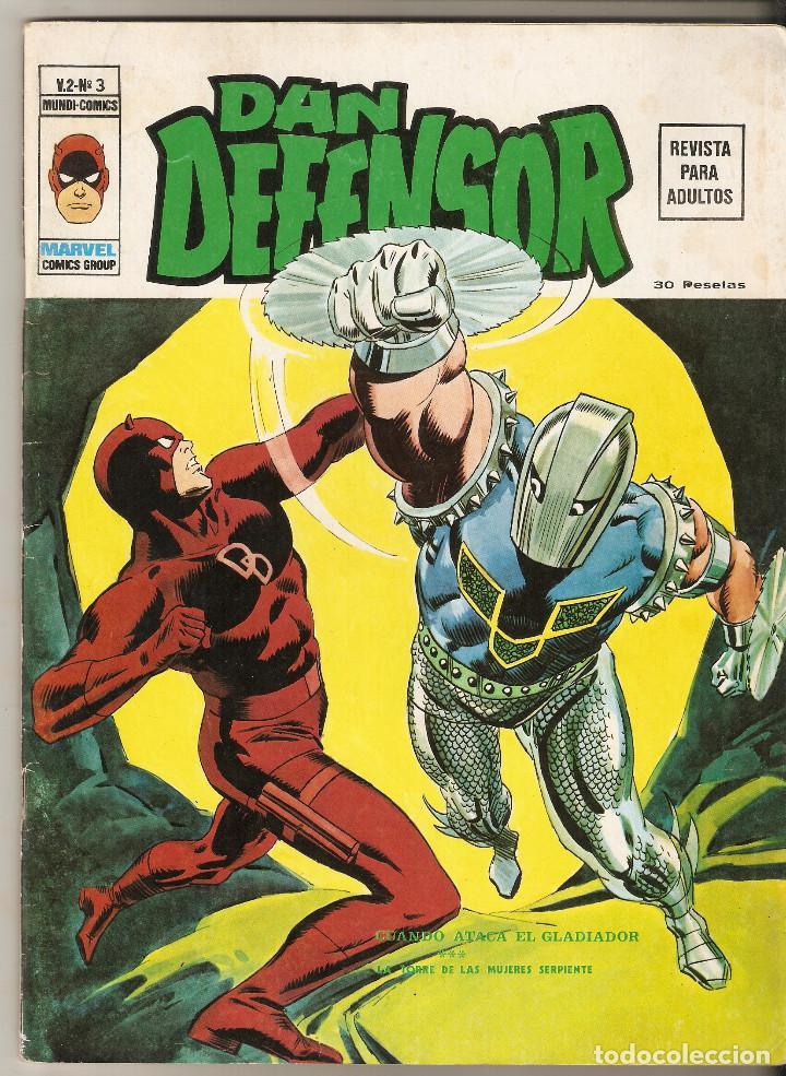 DAN DEFENSOR Nº 2 - CUANDO ATACA EL GLADIADOR - VERTICE VOL2 (Tebeos y Comics - Vértice - Dan Defensor)