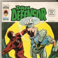 Cómics: DAN DEFENSOR Nº 2 - CUANDO ATACA EL GLADIADOR - VERTICE VOL2. Lote 113108091