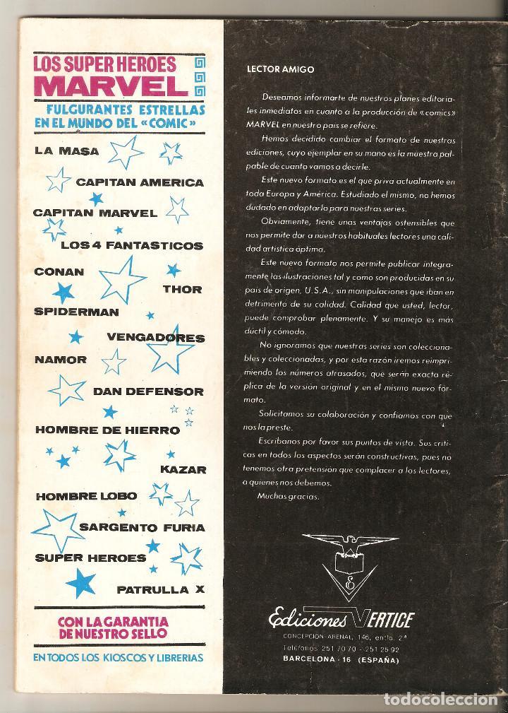 Cómics: DAN DEFENSOR Nº 2 - CUANDO ATACA EL GLADIADOR - VERTICE VOL2 - Foto 2 - 113108091