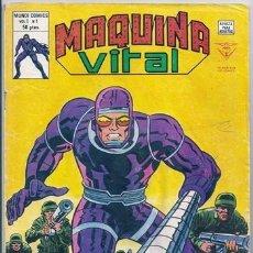 Cómics: MÁQUINA VITAL, 1: EL HOMBRE MÁQUINA (JACK KIRBY) - VÉRTICE, 07/1980. Lote 113112819