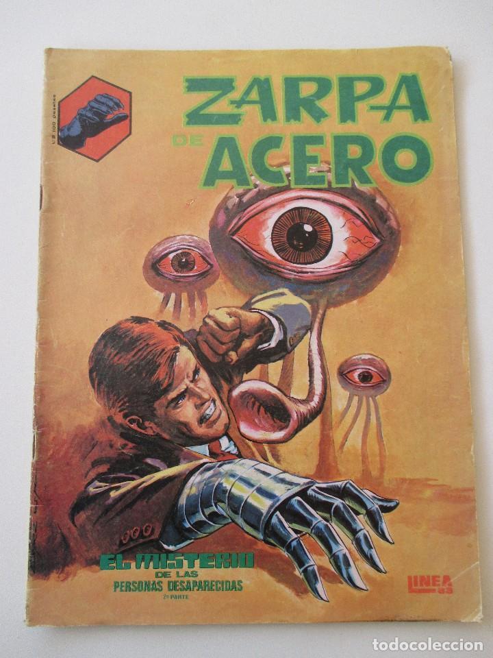 ZARPA DE ACERO Nº 2 EL MISTERIO DE LAS PERSONAS DESAPARECIDAS 2ª PARTE BLANCO Y NEGRO LINEA 83 SURCO (Tebeos y Comics - Vértice - Surco / Mundi-Comic)