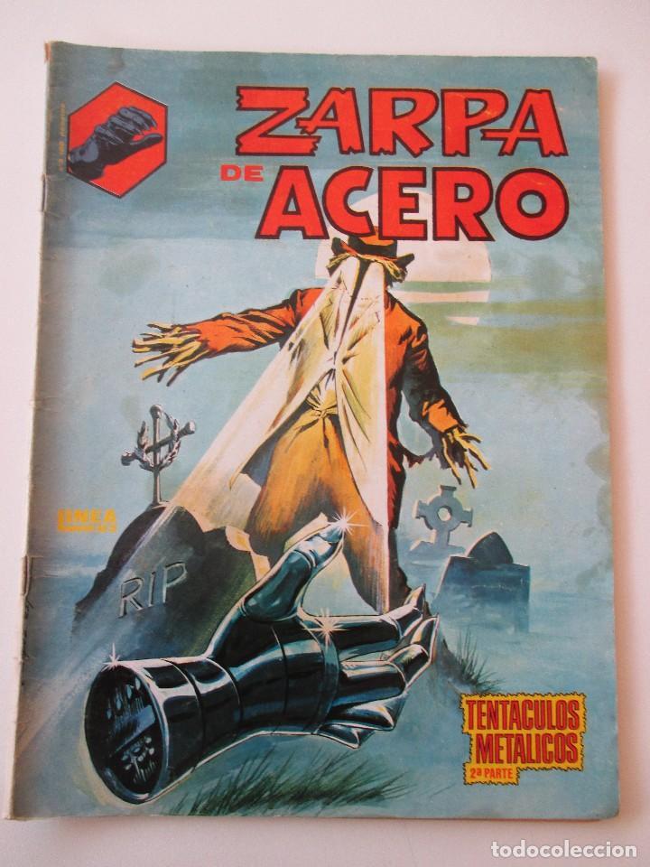 ZARPA DE ACERO Nº 4 TENTÁCULOS METÁLICOS 2ª PARTE BLANCO Y NEGRO LINEA 83 SURCO (Tebeos y Comics - Vértice - Surco / Mundi-Comic)