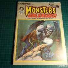 Cómics: MONSTERS UNLEASHED!. Nº 1. VERTICE. (M-40).. Lote 113283255