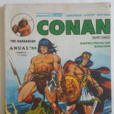 Cómics: CONAN THE BARBARIAN: ANUAL '80 (VERTICE, 1980). Lote 113392151