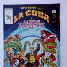 Cómics: LA COSA Y LA BRUJA ESCARLATA SUPER HEROES VOL. 1 Nº 131 - VERTICE -MUNDI-COMICS. Lote 113432879