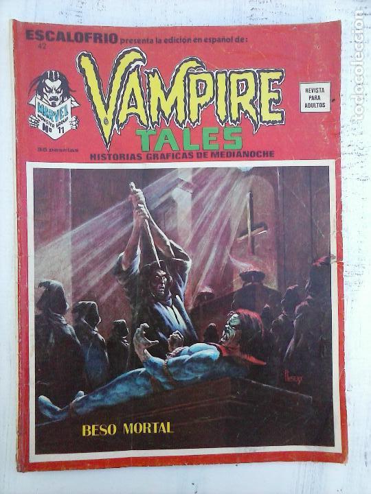 ESCALOFRIO Nº 42 VAMPIRE TALES 11 (Tebeos y Comics - Vértice - Otros)