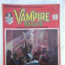 Cómics: ESCALOFRIO Nº 42 VAMPIRE TALES 11. Lote 113467651