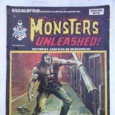 Cómics: ESCALOFRIO Nº 37 MONSTERS UNLEASHED 10. Lote 113469203