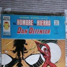 Cómics: HEROES MARVEL VOLUMEN 2 NUMERO 37 VERTICE. EL HOMBRE DE HIERRO Y DAN DEFENSOR.. Lote 143358372