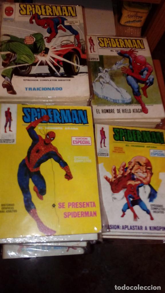 SPIDERMAN VERTICE VOLUMEN 1 COMPLETA 59 NÚMEROS (Tebeos y Comics - Vértice - V.1)