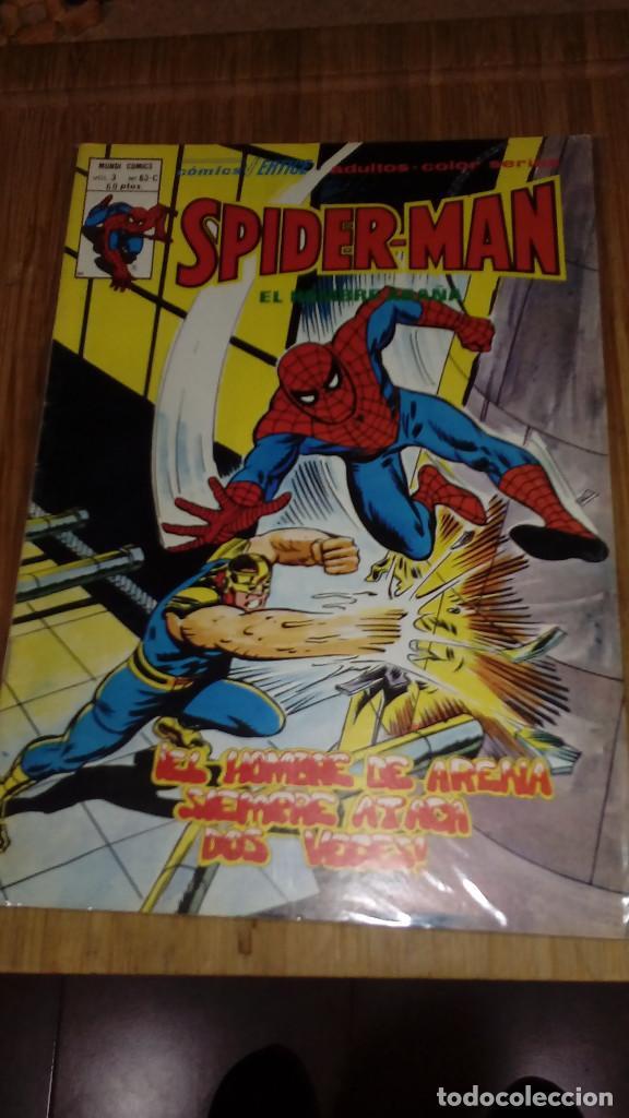 SPIDERMAN V3 Nº 63 C EN MUY BUEN ESTADO (Tebeos y Comics - Vértice - V.3)