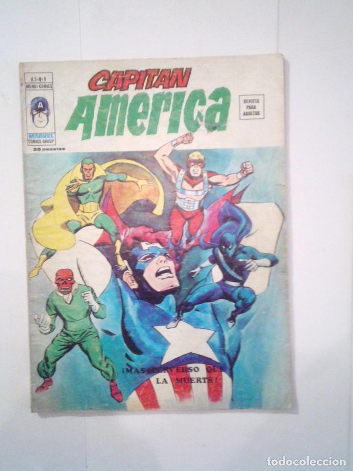 CAPITAN AMERICA - VERTICE - VOLUMEN 2 - NUMERO 9 - CJ 79 - GORBAUD (Tebeos y Comics - Vértice - Capitán América)