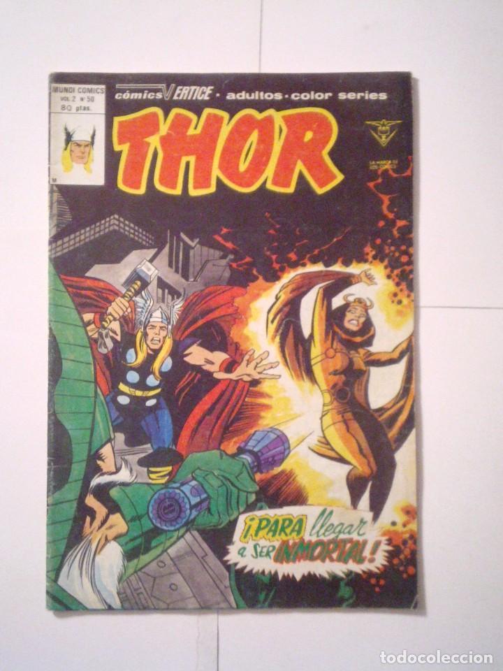 THOR - VOLUMEN 2 - VERTICE - NUMERO 50 - BE - CJ 79 - GORBAUD (Tebeos y Comics - Vértice - Thor)