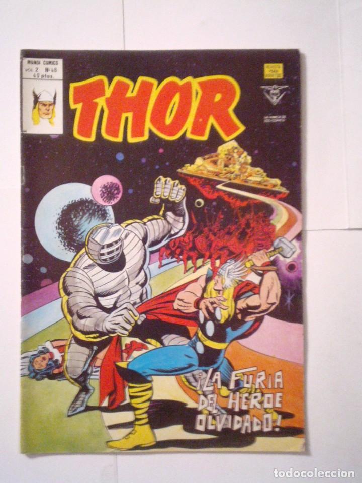 THOR - VOLUMEN 2 - VERTICE - NUMERO 46 - MBE - CJ 79 - GORBAUD (Tebeos y Comics - Vértice - Thor)