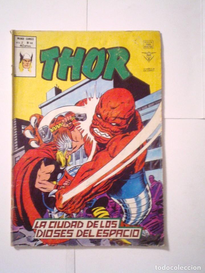 THOR - VOLUMEN 2 - VERTICE - NUMERO 44 - CJ 79 - GORBAUD (Tebeos y Comics - Vértice - Thor)
