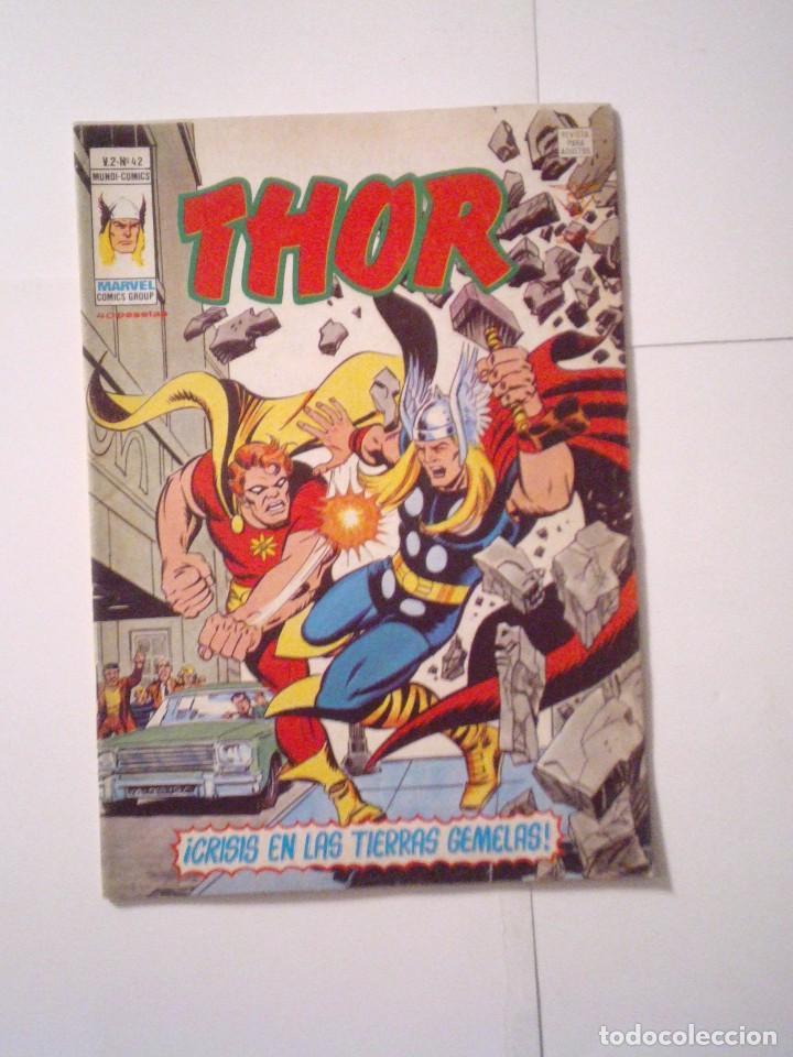 THOR - VOLUMEN 2 - VERTICE - NUMERO 42 - BE - CJ 79 - GORBAUD (Tebeos y Comics - Vértice - Thor)