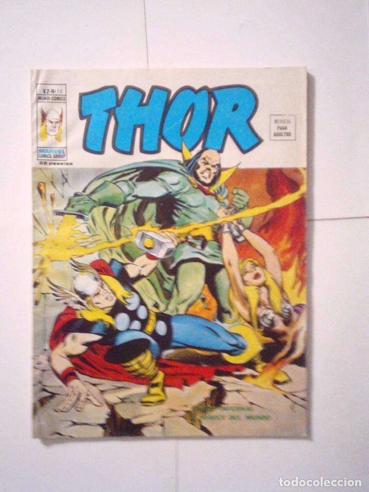 THOR - VOLUMEN 2 - VERTICE - NUMERO 15 - BE - CJ 79 - GORBAUD (Tebeos y Comics - Vértice - Thor)