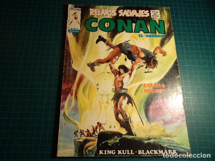 RELATOS SALVAJES. Nº 8. VERTICE. (M-45). (Tebeos y Comics - Vértice - Conan)