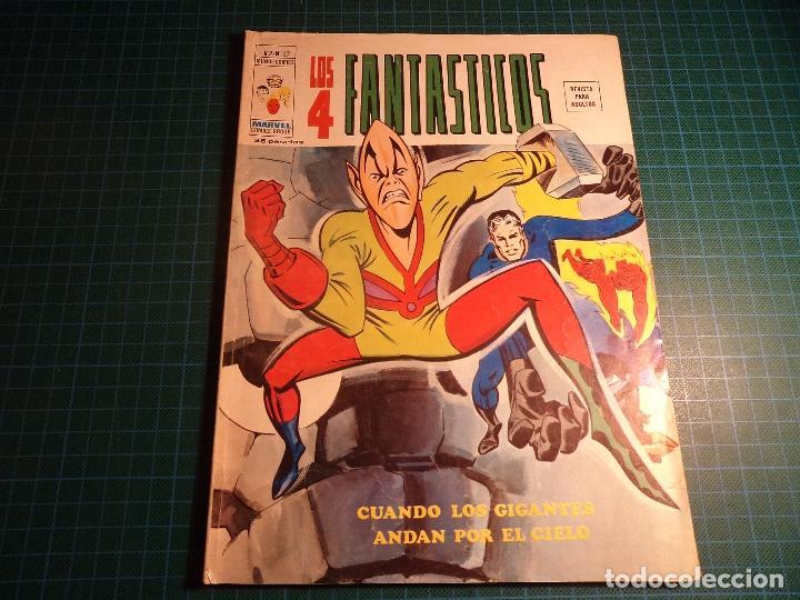 LOS 4 FANTASTICOS. VOL 2 Nº 27. VERTICE. (M-45). (Tebeos y Comics - Vértice - 4 Fantásticos)