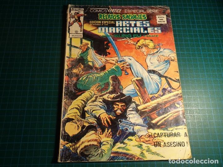 RELATOS SALVAJES ARTES MARCIALES. Nº 41. VERTICE. (M-45). (Tebeos y Comics - Vértice - Relatos Salvajes)