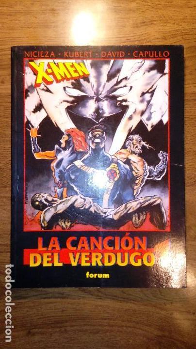 X-MEN LA CANCIÓN DEL VERDUGO 1. FORUM. 1996. OBRAS MAESTRAS 20. (Tebeos y Comics - Vértice - Patrulla X)
