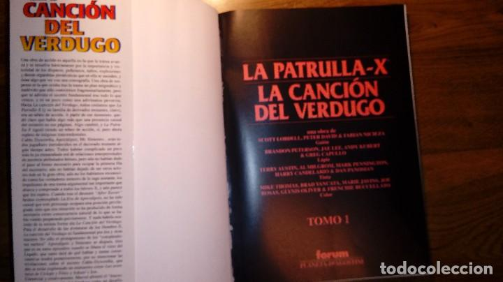 Cómics: X-MEN LA CANCIÓN DEL VERDUGO 1. FORUM. 1996. OBRAS MAESTRAS 20. - Foto 3 - 114394359