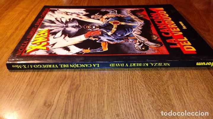 Cómics: X-MEN LA CANCIÓN DEL VERDUGO 1. FORUM. 1996. OBRAS MAESTRAS 20. - Foto 7 - 114394359