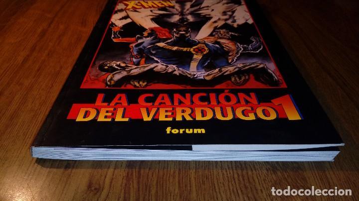 Cómics: X-MEN LA CANCIÓN DEL VERDUGO 1. FORUM. 1996. OBRAS MAESTRAS 20. - Foto 8 - 114394359