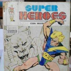 Cómics: SUPER HÉROES PRESENTA: WARLOCK - Nº 1 - EDICIONES VÉRTICE 1973. Lote 114514143