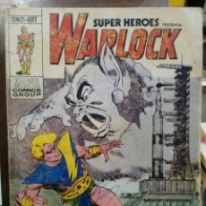 Cómics: SUPER HÉROES PRESENTA: WARLOCK - Nº 1 - EDICIONES VÉRTICE 1973. Lote 114514327