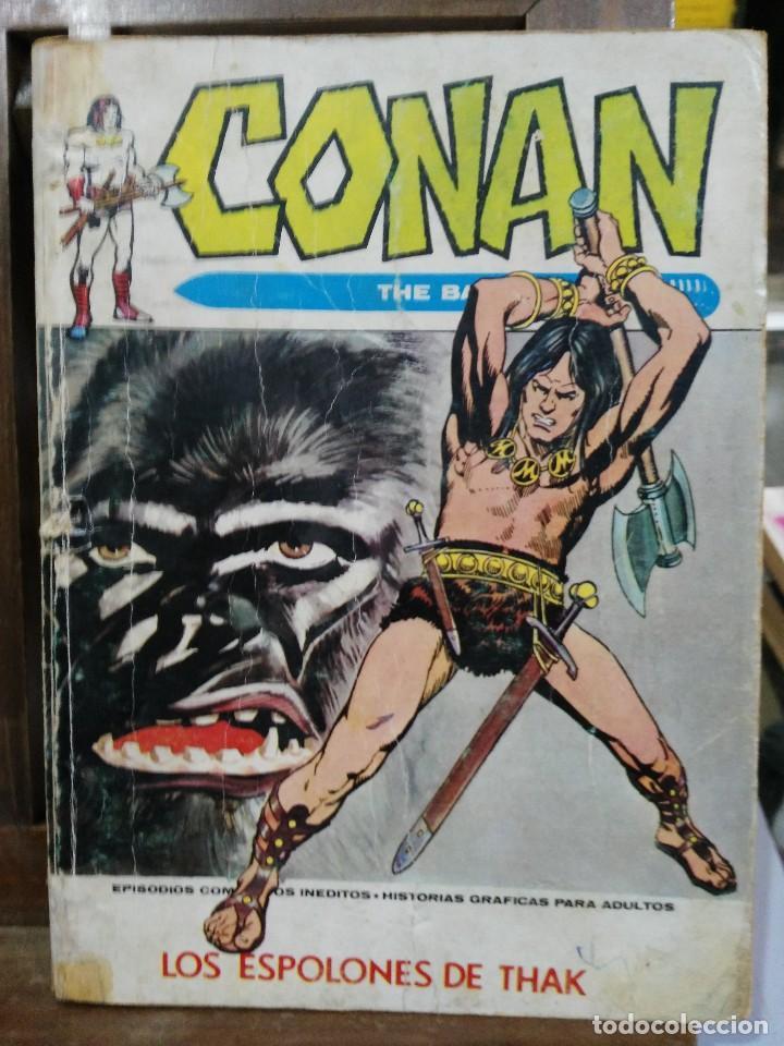 CONAN, THE BARBARIAN - Nº 6 - EDICIONES VÉRTICE 1972 (Tebeos y Comics - Vértice - Conan)