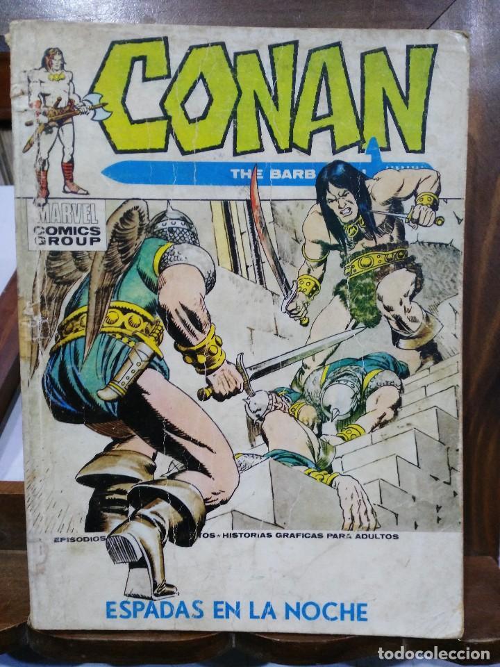 CONAN, THE BARBARIAN - Nº 12 - EDICIONES VÉRTICE 1973 (Tebeos y Comics - Vértice - Conan)