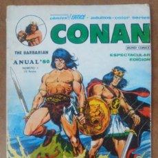 Cómics: CONAN THE BARBARIAN ANUAL 80 - VERTICE. Lote 114529671