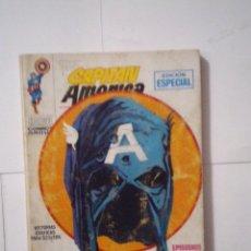 Cómics: CAPITAN AMERICA - VOLUMEN 1 - VERTICE - NUMERO 4 -CJ 6 - GORBAUD. Lote 114579143