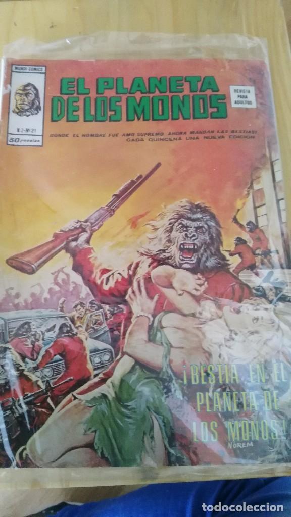 RELATOS SALVAJES. VOL 2. Nº 21. EL PLANETA DE LOS MONOS. EDICIONES VÉRTICE (Tebeos y Comics - Vértice - Relatos Salvajes)