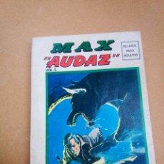 Cómics: TACO DE VERTICE ~ MAX AUDAZ ~ EDICION ESPECIAL 256 PAG ( VOLUMEN 5 ) 1974. Lote 114779759
