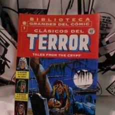 Cómics: BIBLIOTECA.GRANDES DEL COMIC CLASICOS DEL TERROR.. Lote 115094119