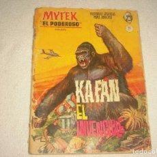 Cómics: MYTEK EL PODEROSO N° 6 . KAFAN EL INVENCIBLE . Lote 115140799