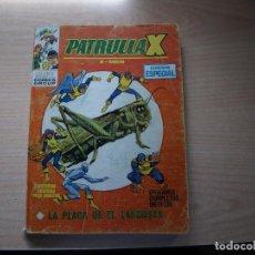 Cómics: PATRULLA X - NÚMERO 11 - FORMATO TACO - VERTICE. Lote 115399219
