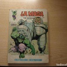 Cómics: LA MASA - NÚMERO 32 - FORMATO TACO - VERTICE. Lote 115403787