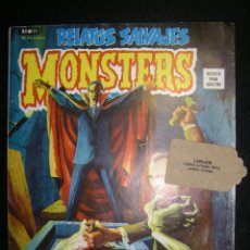 Cómics: RELATOS SALVAJES MONSTERS. VOL.1 Nº 23. ESPECIAL HORROR DE DRACULA. 1974. Lote 115532831