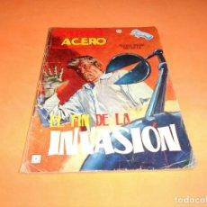 Cómics: ZARPA DE ACERO Nº 17. EL FIN DE LA INVASION. HISTORIAS GRAFICAS PARA ADULTOS. VERTICE. BUEN ESTADO. Lote 115552431