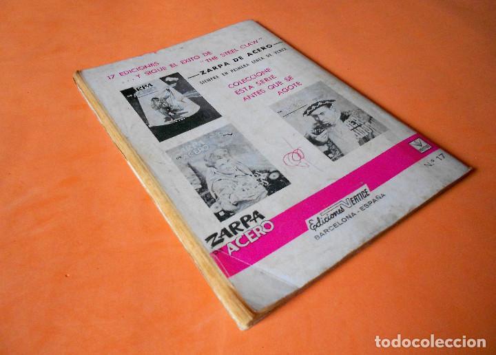 Cómics: ZARPA DE ACERO Nº 17. EL FIN DE LA INVASION. HISTORIAS GRAFICAS PARA ADULTOS. VERTICE. BUEN ESTADO - Foto 2 - 115552431